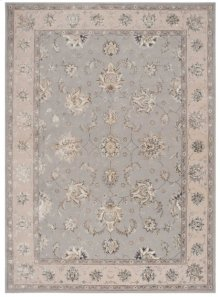 Serenade Srd01 Grey Rectangle Rug 5'3'' X 7'5''