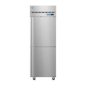 HoshizakiF1A-HS, Freezer, Single Section Upright, Half Stainless Doors with Lock