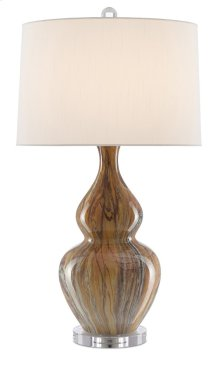 Kolor Brown Table Lamp