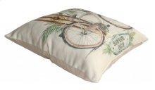Beach Comber Throw Pillow