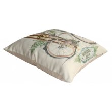 Beach Comber Throw Pillow