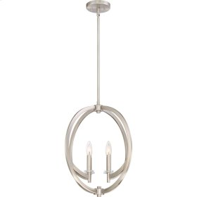 Orion Pendant in Brushed Nickel