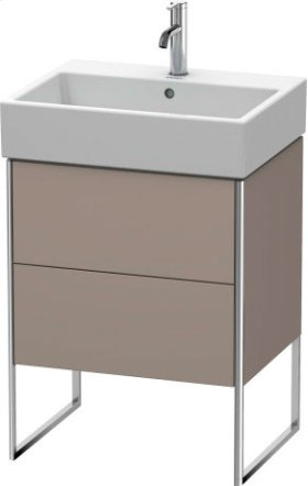 Vanity Unit Floorstanding, Basalt Matt (decor)