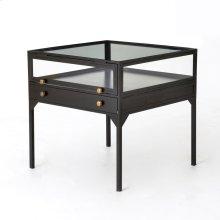 Shadow Box End Table