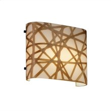 ADA Wide Oval Wall Sconce