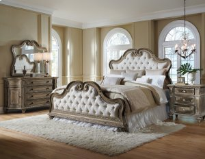 Queen Upholstered Footboard & Slats