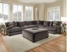 1600 Ultimate Smoke Sectional Product Image