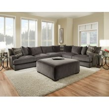 1600 Ultimate Smoke 4-Piece Sectional