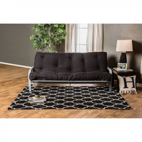 "Plosh 8"" Black Futon Mattress"