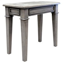 Accent Table, Available in Distressed White or Distressed Grey Finish.
