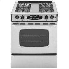 Gas Range with Precision Cooking System