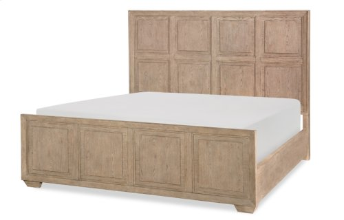 Bridgewater Panel Bed Complete, CA King 6/0