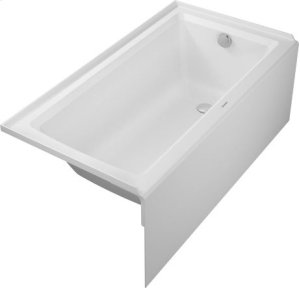 White Architec Bathtub With Panel Height 18""