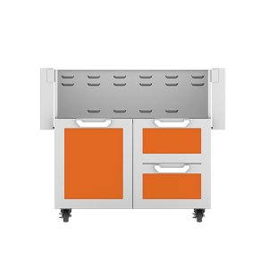 "Hestan36"" Hestan Outdoor Tower Cart with Door/Drawer Combo - GCR Series - Citra"