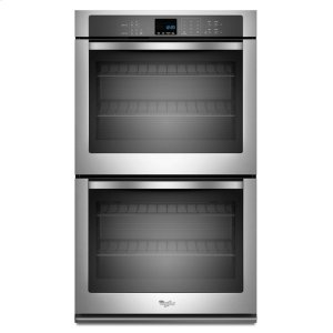 8.6 cu. ft. Double Wall Oven with SteamClean Option - STAINLESS STEEL