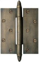 Silicon Bronze-Butt Hinge With Steeple Finial Cap Product Image