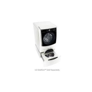 5.2 cu. ft. Large Smart wi-fi Enabled Front Load Washer TurboWash® - WHITE