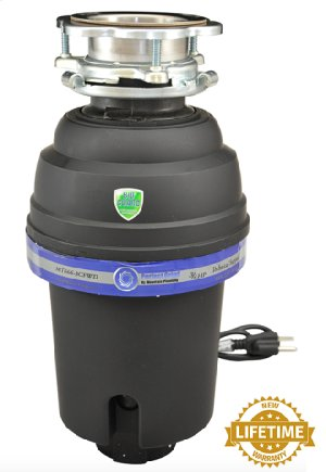 Perfect Grind® Waste Disposer - Continuous Feed 3-Bolt Mount 3/4 HP Product Image