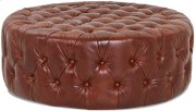 Dwell Living Room TUFTED Ottoman GL4300 OTTO Product Image