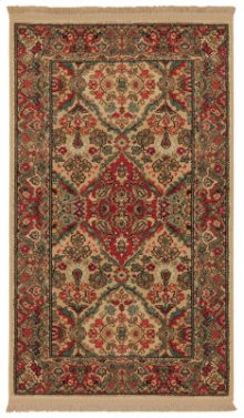 Empress Kirman Multi Rectangle 2ft 6in X 4ft 3in