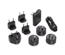 Bose wall charger plus international adapters