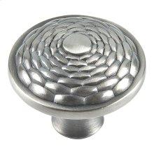 Mandalay Round Knob 1 5/16 Inch - Brushed Nickel