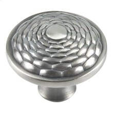 Mandalay Round Knob 1 5/16 Inch - Brushed Nickel