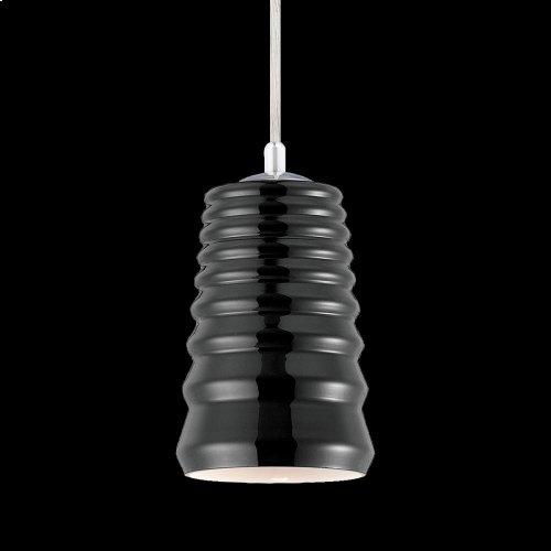 1-LIGHT LARGE PENDANT - Chrome