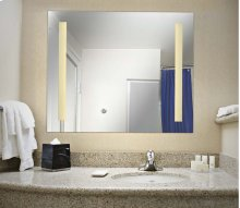 2 Light LED Mirror (Large)