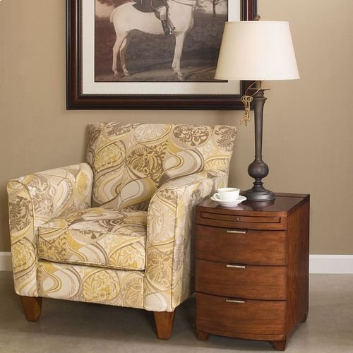 Chairsides Bowfront Chairside Table