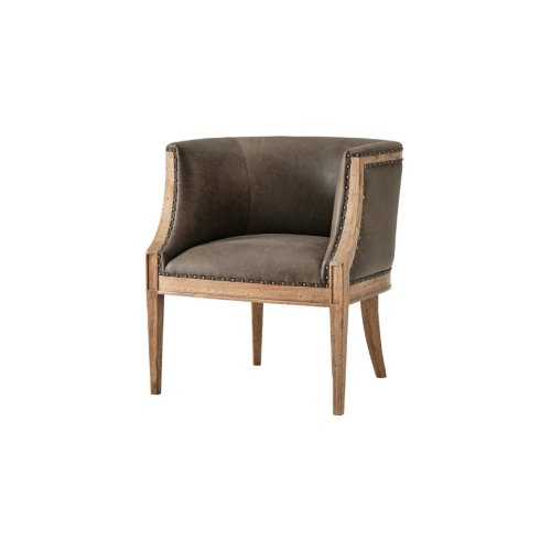 Orlando Accent Chair, Echo Oak