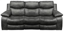 Power Reclining Sofa - Steel