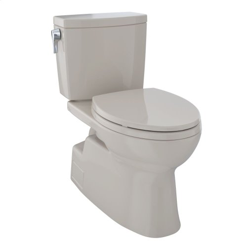 Vespin® II 1G Two-Piece Toilet, Elongated Bowl - 1.0 GPF - Bone