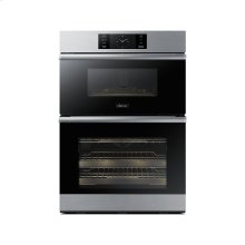 """30"""" Combi Wall Oven, Graphite Stainless Steel"""