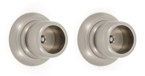 Charlie's Collection Shower Rod Brackets A6746 - Satin Nickel