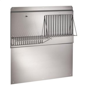 "Best48"" Stainless Steel Backsplash"