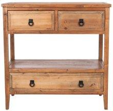 Branson 3 Drawer Sideboard - Brown Pine