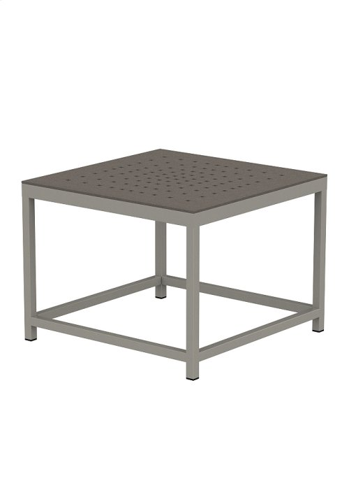 Cabana Club Patterned Square End Table