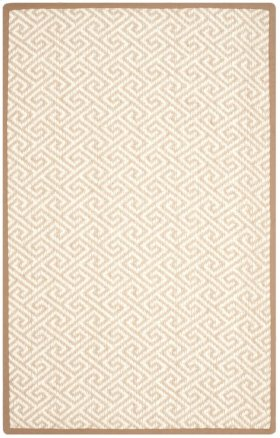 Natural Fiber Power Loomed Small Rectangle Rug