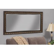 35511 Series Full Length Leaner Mirror - Brown