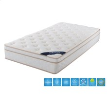 10.5'' Euro Top Twin Size Mattress With Pocket Coil
