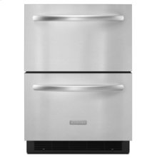 "Double-Drawer Refrigerator  5.1 cu. ft.  24"" Width  Architect® Series II"