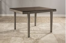 Garden Park Dining Table - Gray With Dark Espresso (wirebrush)