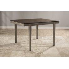 Garden Park Dining Table - Gray With Dark Espresso (wirebrush)