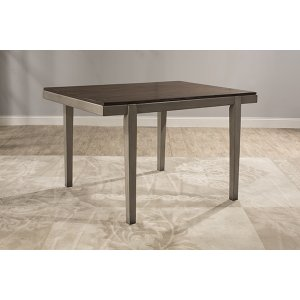 Hillsdale FurnitureGarden Park Dining Table - Gray With Dark Espresso (wirebrush)