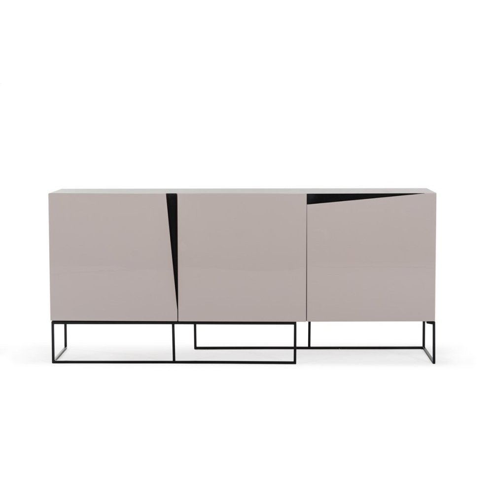 Modrest Hope Modern Grey Gloss Buffet