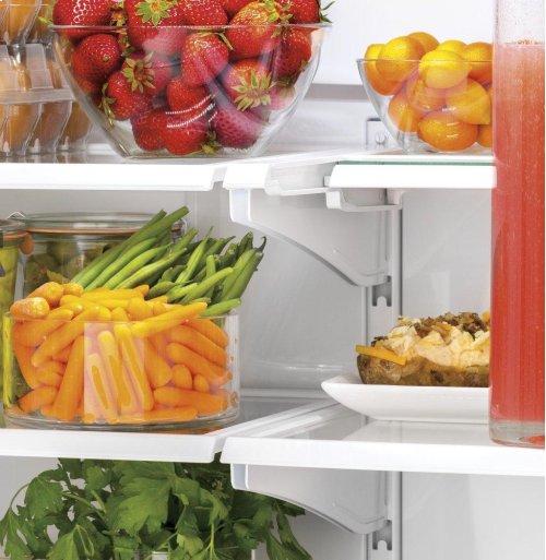 GE® ENERGY STAR® 18.6 Cu. Ft. Counter-Depth French-Door Refrigerator
