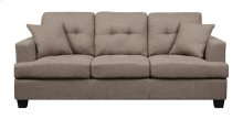 Emerald Home Clearview Sofa W/2 Pillows Brown U3610a-00-15
