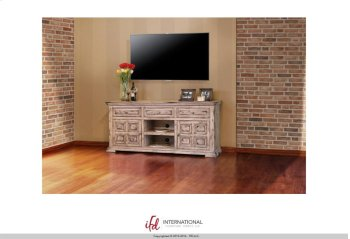 """72"""" TV Stand w/2 doors, 3 drawers & 1 Shelf Product Image"""