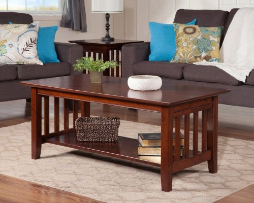 Mission Coffee Table Walnut